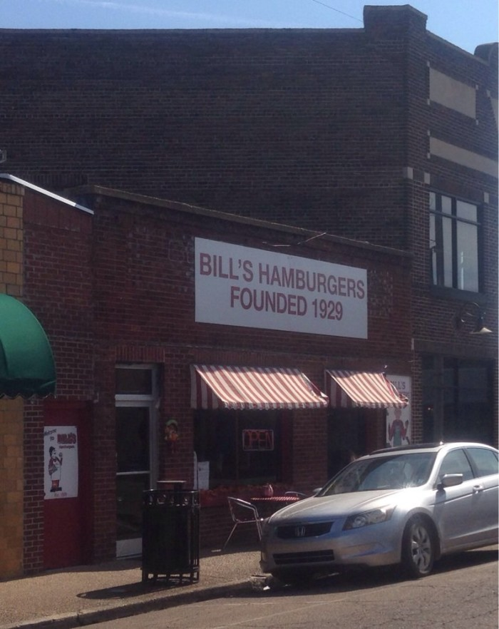 7. Bill's Hamburgers, Amory