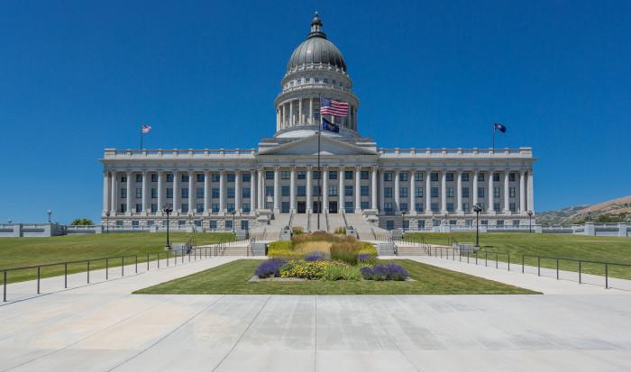 7) Utah State Capitol