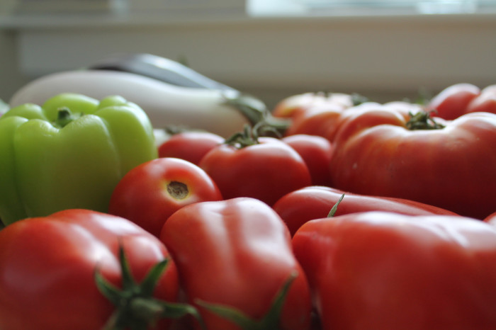 6. ...But the Sight of Garden-Fresh Vegetables is Just as Appetizing.