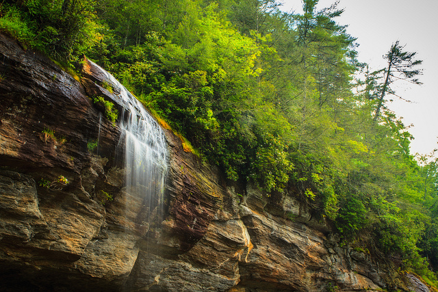 11. Waterfall Byway, US 64