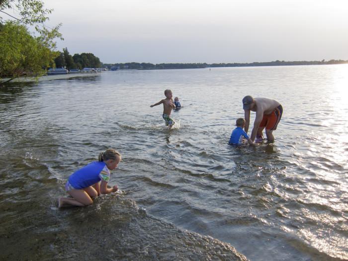 1. Swam in one of Minnesota's wonderful lakes!
