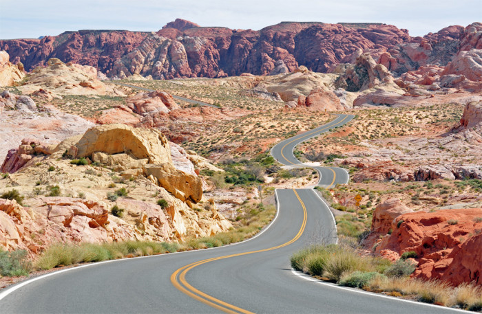 5. Valley of Fire Road