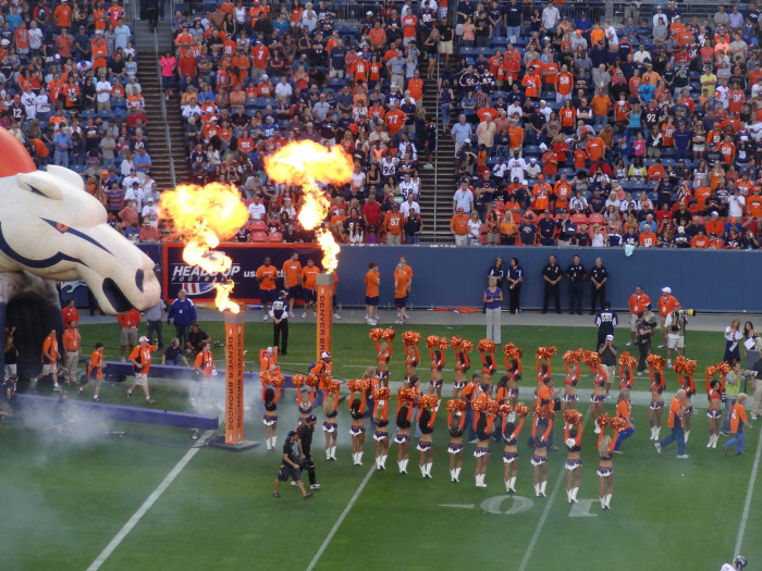 1. First and foremost, the Broncos regular season begins Sunday!