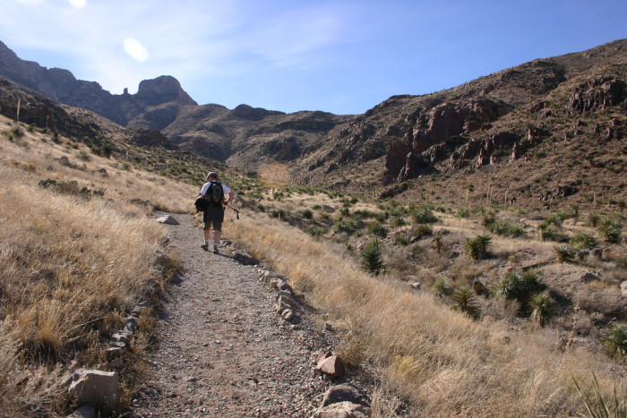 4) Franklin Mountains State Park