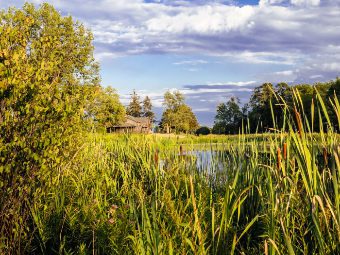 3. Another absolutely gorgeous picture of Merry Lea Environmental Center! This photographer takes some great shots!