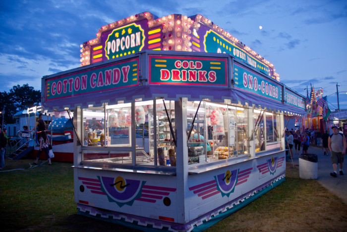 6. The fair. I absolutely can't wait for the fair to come to town.
