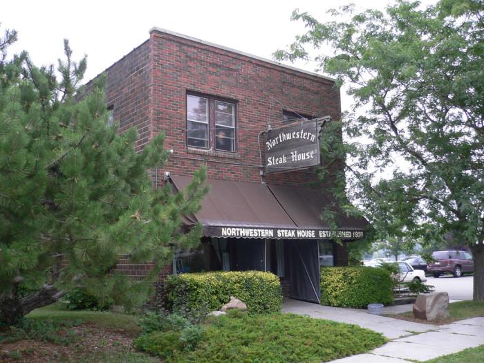 6. Northwestern Steakhouse, Mason City