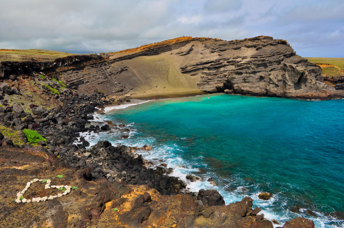 8) Papakolea Beach, Big Island