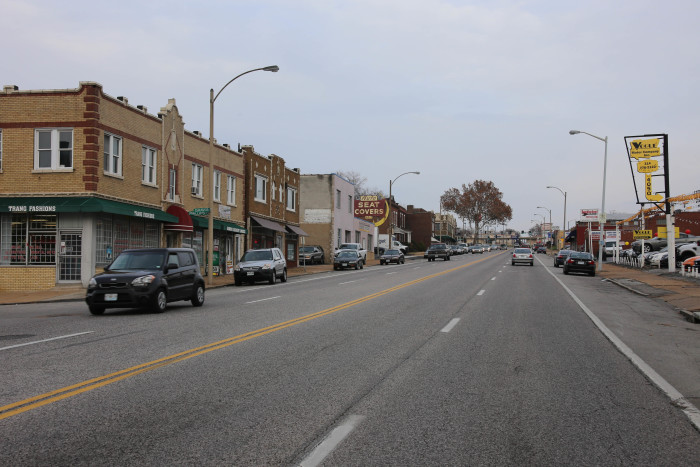 Gravois in Tower Grove South