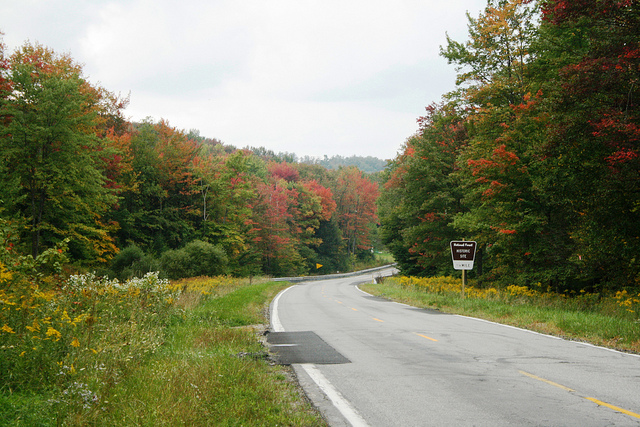 2. Visit the Allegheny National Forest and take this scenic drive that will bring you right past the Powerhouse Historic Site.