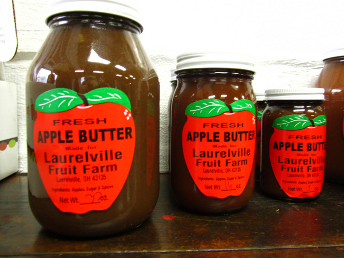 8. Taste the heaven that is locally made hot apple cider and apple butter.