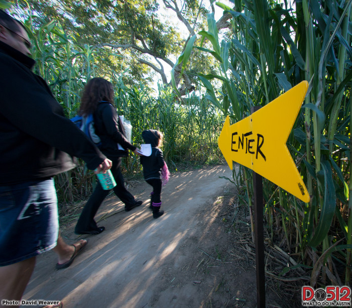 4) Corn mazes are always fun! The one pictured below is the Barton Hills Farm Corn Maze.