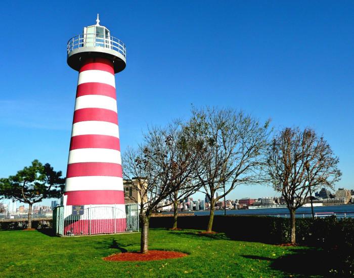 6. LeFrak Point Lighthouse, Jersey City