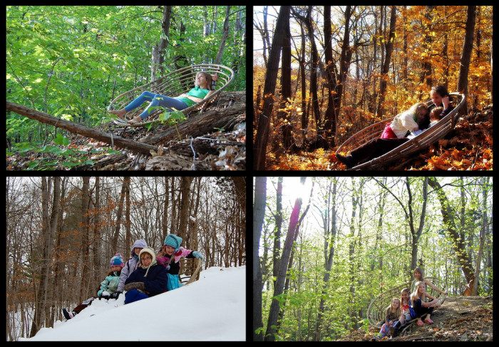 8. Getting to experience all four seasons, and the craziness that comes with them.