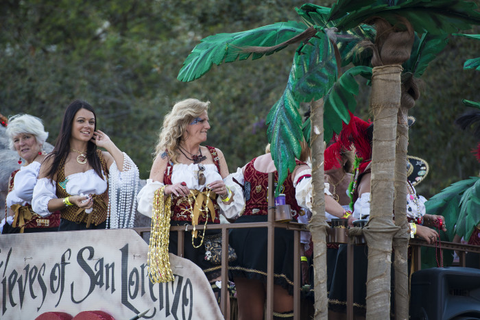 10) And Now (Gasparilla Parade of the Pirates)