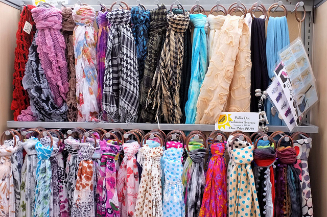 7. You can't wait to bust out your awesome scarf collecton
