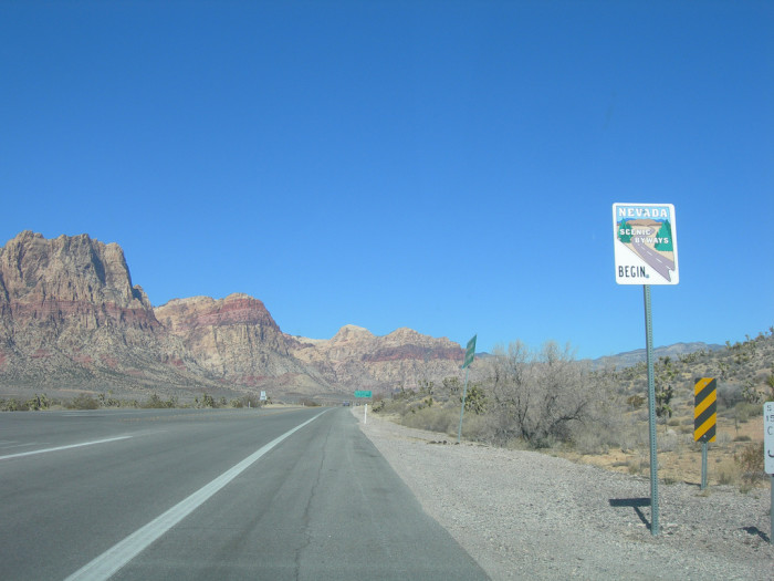 2. Red Rock Canyon Backcountry Byway