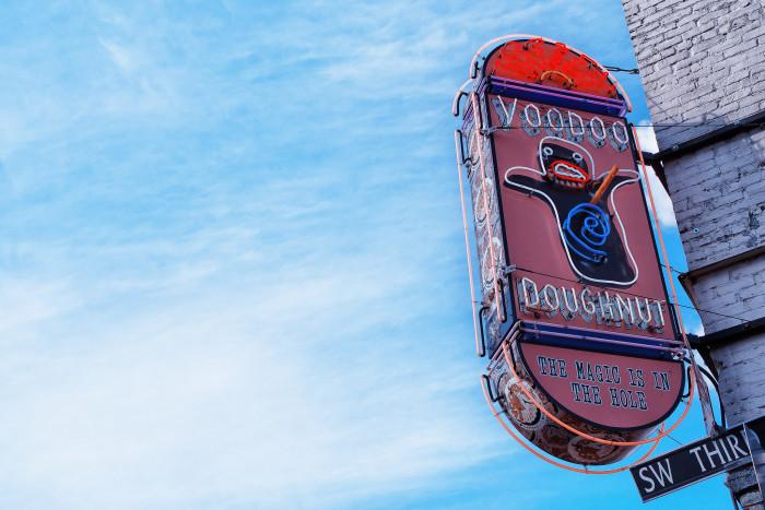 5) Voodoo Doughnuts Tex-ass Doughnut Challenge