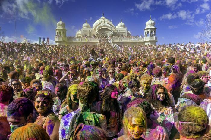 17) Festival of Colors in Spanish Fork
