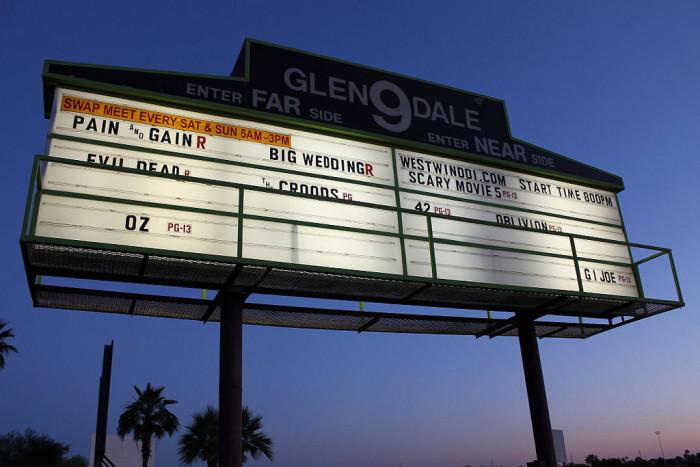 4. Glendale 9 Drive-In Movie Theatre, Glendale