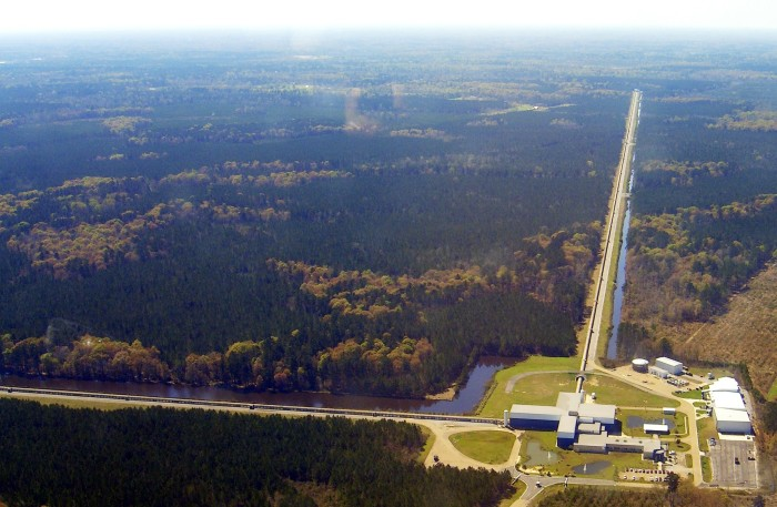 8) Laser Interferometer Gravitational Wave Observatory, Livingston