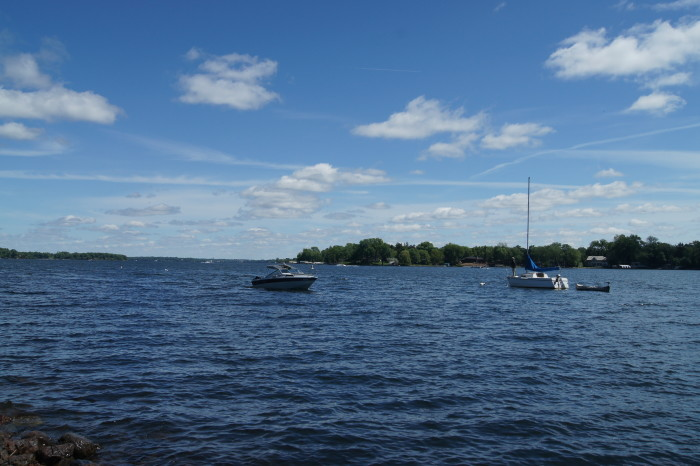 4. Excelsior Bay on Lake Minnetonka is beautiful and a wonderful place to spend a day!