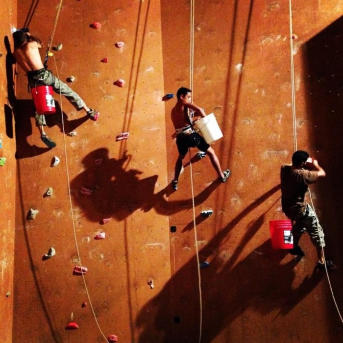 9) If you're on Oahu, check out Volcanic Rock Gym for some indoor adventure.