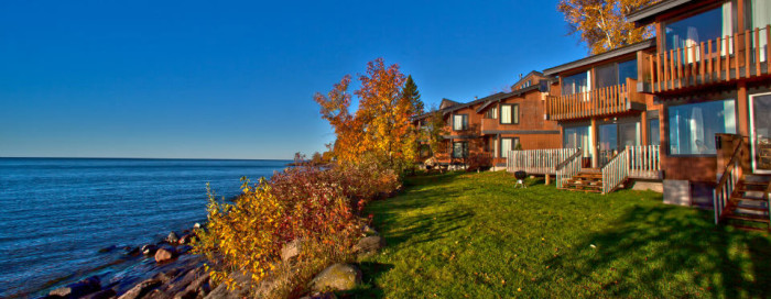 5. Enjoy the gorgeous scenery and awesome recreation at Lutsen Resort on Superior's North Shore. It is a long-time MN favorite for its fantastic service and beautiful location.