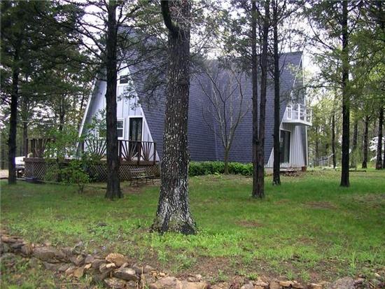 9. Bonne Terre A-Frame House