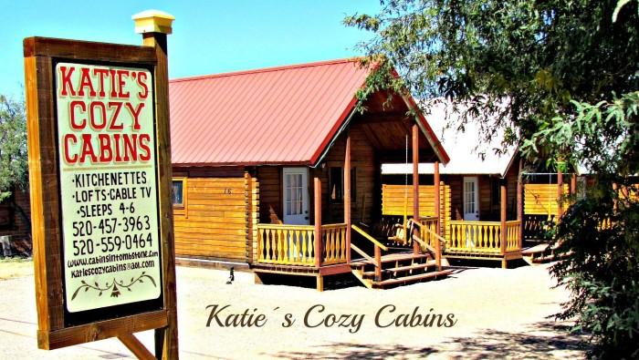 7. Katie's Cozy Cabins, Tombstone