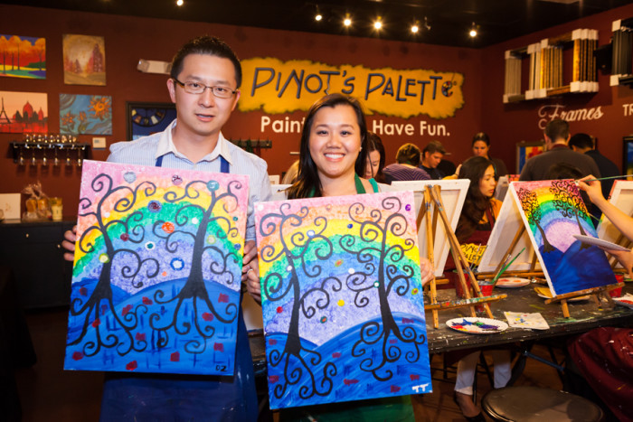 3. Painting classes have become a hot thing to do these days. A lot of them pair the experience with drinking wine. I think that will definitely add a level of relaxation to the whole thing and you get to bring home your painting.