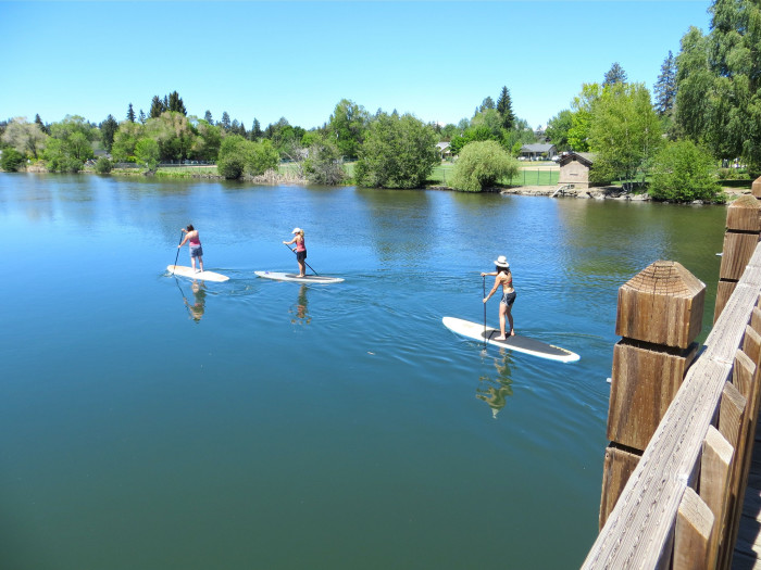 10) Learn to standup paddle board.