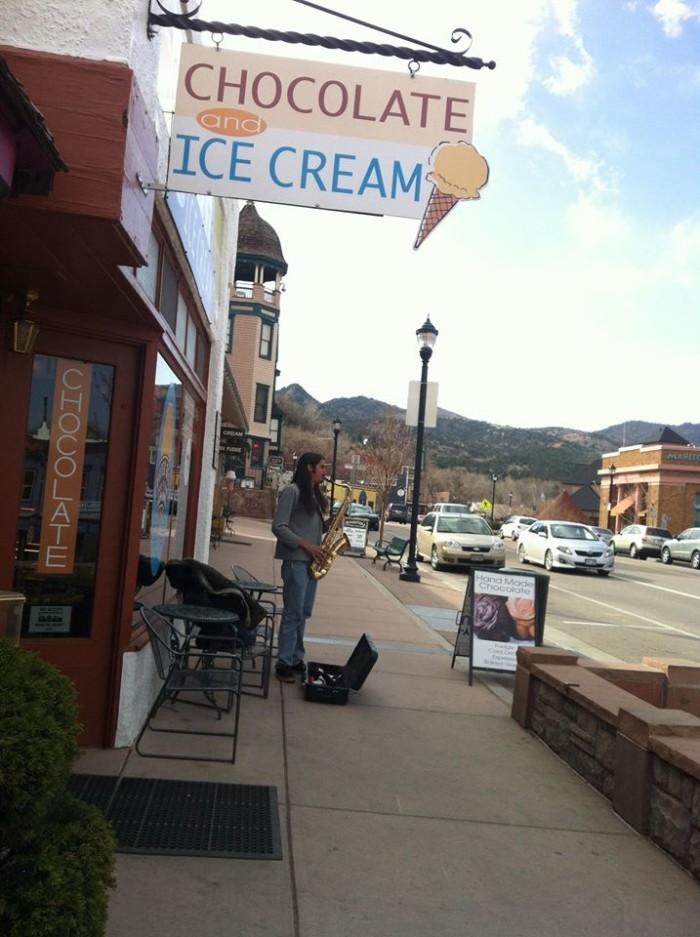 3. Pikes Peak Chocolate and Ice Cream (Manitou Springs)