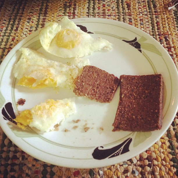 1. Eggs and Liver Mush