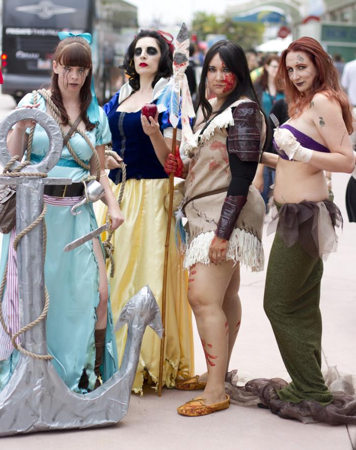 2. Evil/Zombie Princesses