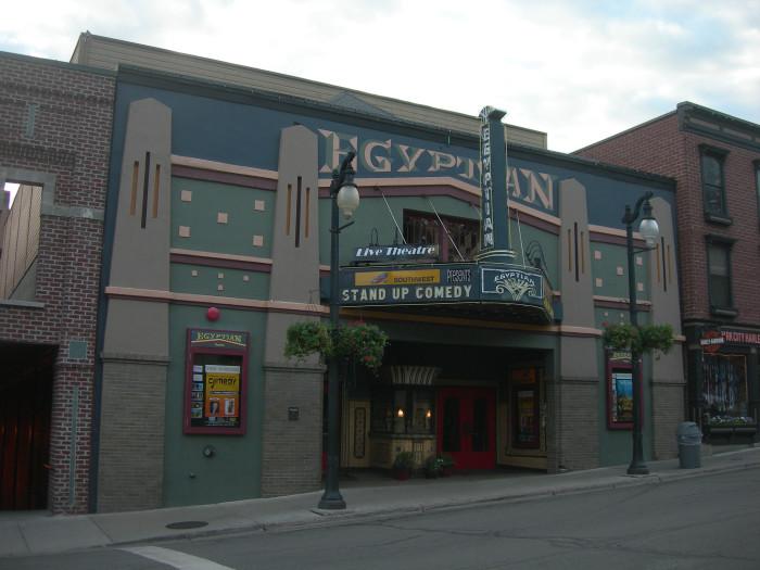5) Egyptian Theater, Park City