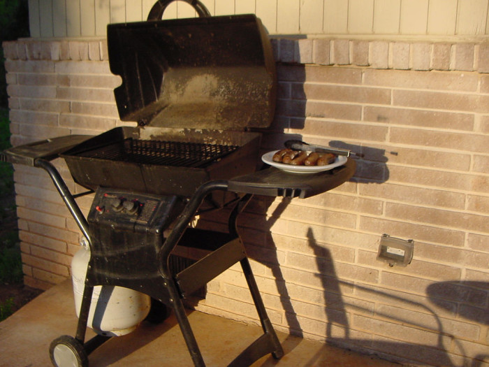 5) An outdoor grill, because nothing hits the spot quite like grilled burgers, steaks, or chicken on a hot summer night.