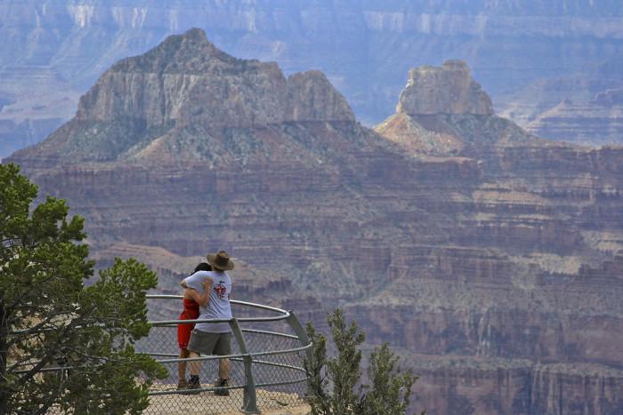 8. At the Grand Canyon