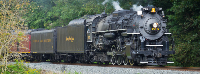 8. Nickel Plate Road no. 765 (Cuyahoga Valley Scenic Railroad)