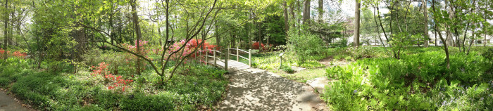 14. ...and our spring gardens will enchant you.