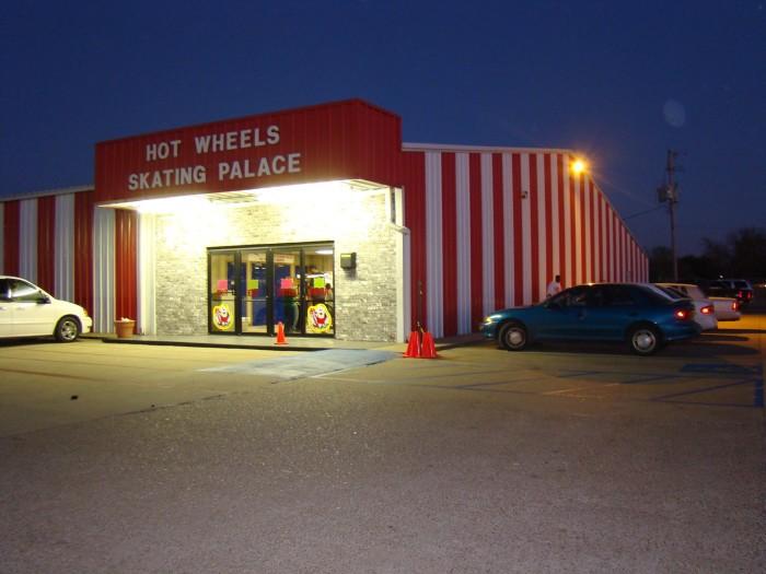7) Hot Wheels Skating Palace, Shreveport