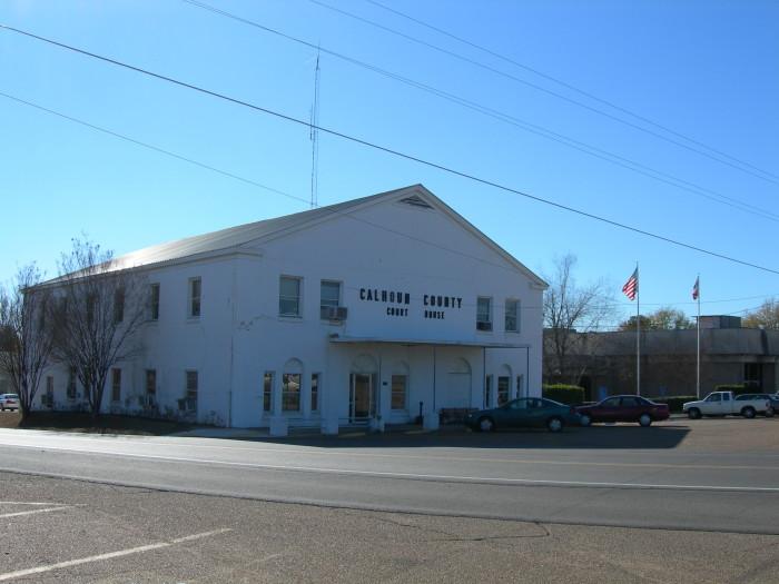12. Calhoun County: 21.47/10,000