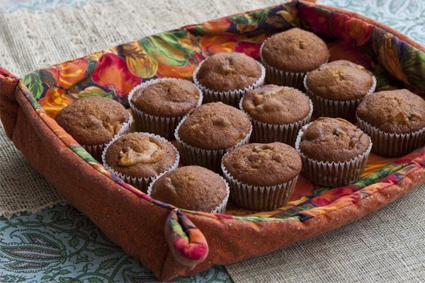 9. And everyone is baking seasonal treats, like pumpkin muffins, or pumpkin pie.