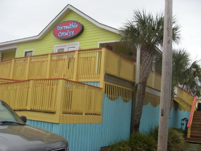 8. Incredible Candys - Gulf Shores