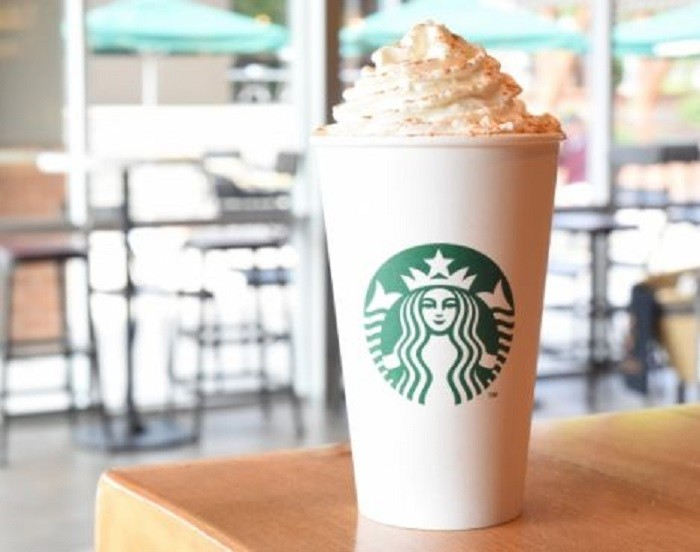9. Pumpkin spice EVERYTHING becomes available, including the famous Pumpkin Spice Latte at Starbucks.