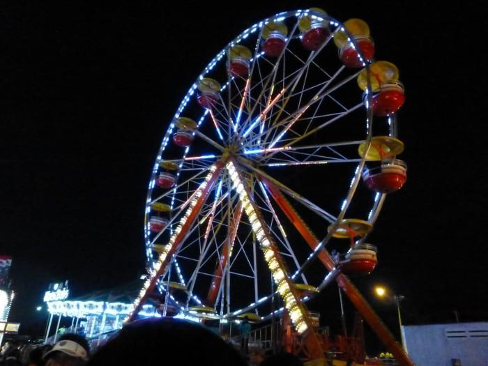 12. Attend a fair, carnival or fall festival.