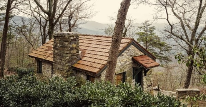 13. Rent a cabin in the mountains for a relaxing vacation getaway.