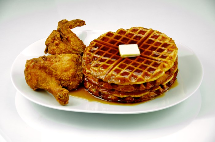 6. Chicken and Waffles