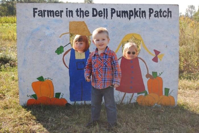 10. Farmer in the Dell Pumpkin Patch