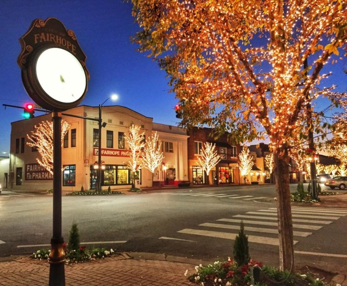 7. ...to small, charming towns, Alabama is a great place to live.